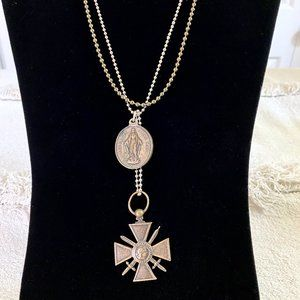 Rustic Handmade Adjustable Look Necklace